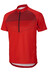 Ziener Cadmin Tricot Men Half Zip red/black